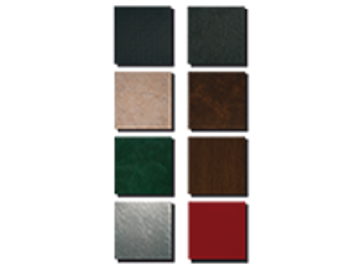 Carbo, Karbon, Leder, Stein, Rost, Stucco, Holz, Metal, Uni